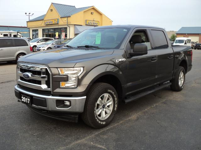 2017 Ford F-150 XLT CrewCab 4x4 3.5L 5.5ft Box