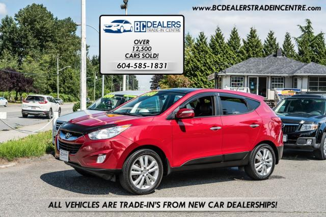 2011 Hyundai Tucson Limited, Local SUV, Leather, Sunroof, Bluetooth
