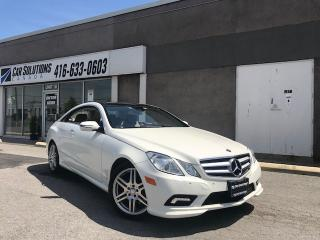 Used 2010 Mercedes-Benz E-Class SOLD for sale in Toronto, ON
