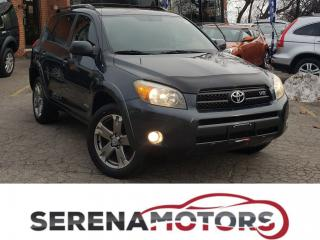 Used 2008 Toyota RAV4 SPORT | 4WD | V6 | LEATHER | NO ACCIDENTS for sale in Mississauga, ON
