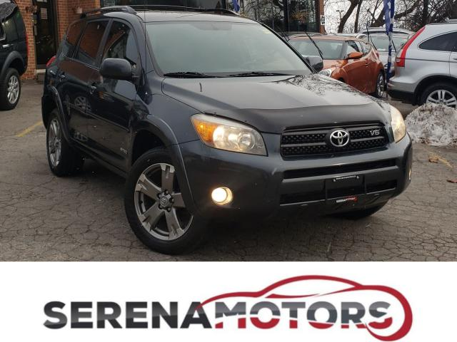 2008 Toyota RAV4 SPORT | 4WD | V6 | LEATHER | NO ACCIDENTS
