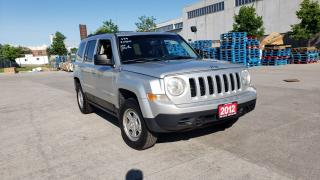 Used 2012 Jeep Patriot 4X4, Auto, 3/Y warranty available. for sale in Toronto, ON