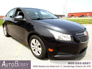 Used 2013 Chevrolet Cruze LT - 1.4L - FWD for sale in Woodbridge, ON