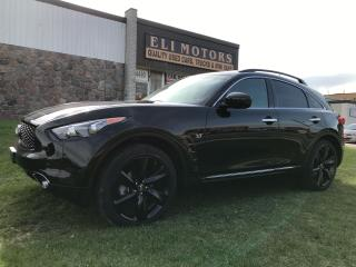 Used 2017 Infiniti QX70 SPORT NAVI 360 CAMERA BLUETOOTH 21 INCH ALLOYS for sale in North York, ON