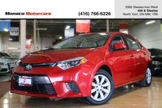 Used 2015 Toyota Corolla CVT LE - BACKUPCAM HEATED SEATS BLUETOOTH for sale in North York, ON