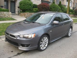 Used 2009 Mitsubishi Lancer GTS, NO ACCIDENTS, NEW TIRES, WELL MAINTAINED for sale in Toronto, ON