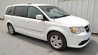 Used 2016 Dodge Grand Caravan Crew | Leather | Nav | DVD for sale in Listowel, ON