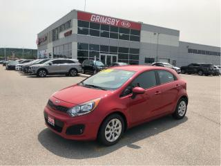 Used 2013 Kia Rio LX +| Gas Saver| Low KMS!| Heat Seat| Bluetooth for sale in Grimsby, ON