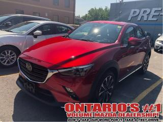 Used 2019 Mazda CX-3 GT|Navigation|Leather|Backup Camera|10557km for sale in Toronto, ON