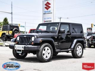 Used 2012 Jeep Wrangler Sahara 4x4 ~Heated Leather ~Trailer Tow for sale in Barrie, ON