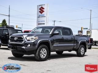 Used 2016 Toyota Tacoma SR5 Double Cab 4x4 ~Backup Cam ~Trailer Tow for sale in Barrie, ON