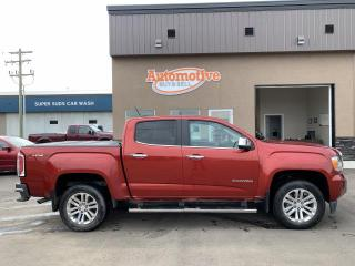 Used 2015 GMC Canyon SLT CREW CAB 4WD SHO for sale in Stettler, AB