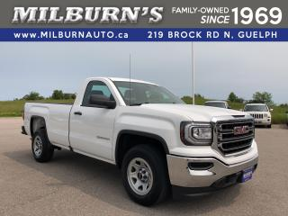 Used 2018 GMC Sierra 1500 Reg. Cab 8ft Box for sale in Guelph, ON