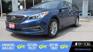 Used 2015 Hyundai Sonata GL ** Bluetooth, Heated Seats, Clean CarFax ** for sale in Bowmanville, ON