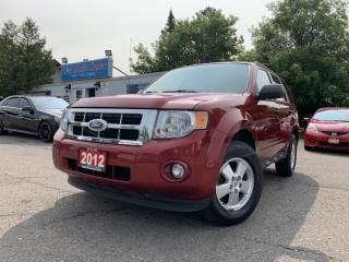 Used 2012 Ford Escape FWD 4dr XLT w/ BLUETOOTH & LEATHER *ACCIDENT FREE* for sale in Brampton, ON