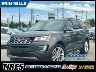 Used 2017 Ford Explorer Limited NAVI|DUAL ROOF|MASSAGE SEATS| for sale in Mississauga, ON