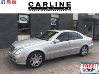 Used 2003 Mercedes-Benz E-Class 4dr Sdn 5.0L for sale in Nobleton, ON