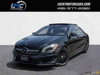 Used 2015 Mercedes-Benz CLA-Class CLA250 4MATIC AMG PKG-PANORAMICROOF-LEDS-NAV-BLINDSPOT for sale in North York, ON