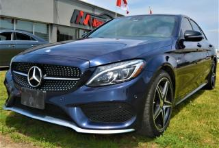 Used 2016 Mercedes-Benz C-Class C450 4MATIC AMG|COMFORT ACCESS|SPORT SUSPENSION for sale in Brampton, ON