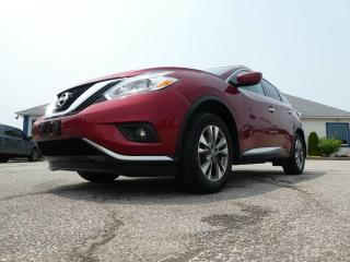 Used 2016 Nissan Murano SV- NAVIGATION- MOONROOF- BLUETOOTH- BACKUP CAM- HEATED SEATS for sale in Essex, ON