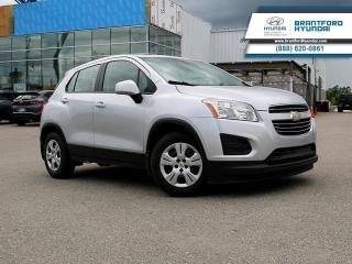 Used 2016 Chevrolet Trax LS  - Bluetooth - $115.07 B/W for sale in Brantford, ON
