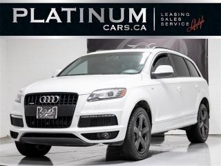 Used 2014 Audi Q7 3.0L TDI QUATTRO, 7 PASSENGER, NAVI, PANO, CAM, for sale in Toronto, ON