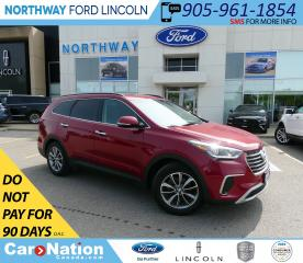 Used 2018 Hyundai Santa Fe XL Premium | AWD | HTD SEATS | PUSH START | 3 ROW | for sale in Brantford, ON