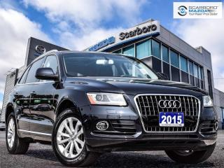Used 2015 Audi Q5 2.0T Progressiv|NO ACCIDENT|LOW KM| for sale in Scarborough, ON