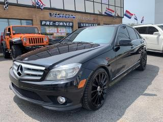 Used 2010 Mercedes-Benz C-Class 2010 Mercedes-Benz C-Class - 4dr C350 4MATIC/ NAVI for sale in North York, ON