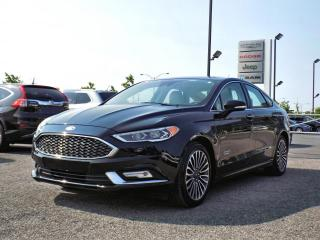 Used 2017 Ford Fusion ENERGI PLATINUM *CUIR*TOIT*GPS* for sale in Brossard, QC