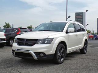 Used 2018 Dodge Journey CROSSROAD AWD *CUIR*TOIT*DVD*GPS* for sale in Brossard, QC