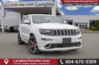 Used 2015 Jeep Grand Cherokee SRT - Navigation -  Leather Seats for sale in Surrey, BC