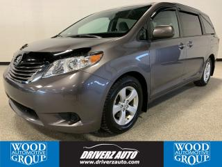 Used 2015 Toyota Sienna LE 8 Passenger CLEAN CARFAX, 8 PASSENGER FWD, REARVIEW CAMERA for sale in Calgary, AB