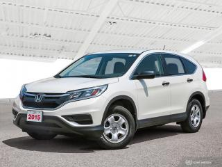 Used 2015 Honda CR-V LX Sold Pending Customer Pick Up...Reverse Assist Camera, Bluetooth and More! for sale in Waterloo, ON