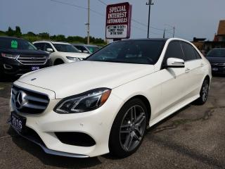 Used 2016 Mercedes-Benz E-Class NAVIGATION !!  SUNROOF !!  LEATHER !! for sale in Cambridge, ON