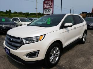 Used 2016 Ford Edge SEL NAVIGATION !!  AWD !!  SUNROOF !! for sale in Cambridge, ON