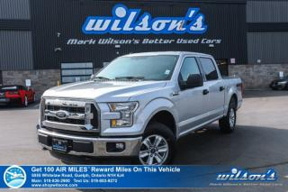 Used 2015 Ford F-150 XLTSuperCrew 4x4 5.0L V8- Power Group, Keyless Entry, Alloy Wheels and more! for sale in Guelph, ON