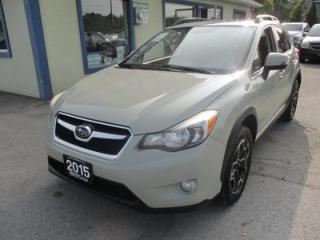 Used 2013 Subaru XV Crosstrek ALL-WHEEL DRIVE XV MODEL 5 PASSENGER 2.0L - DOHC.. 5-SPEED MANUAL.. NAVIGATION.. SUNROOF.. LEATHER.. HEATED SEATS.. for sale in Bradford, ON