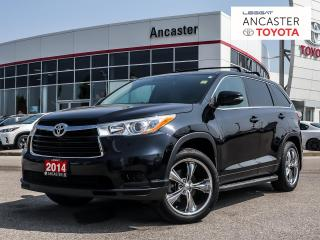 Used 2014 Toyota Highlander LE - 1 OWNER|DVD|CAMERA|3M CHIP GUARD for sale in Ancaster, ON