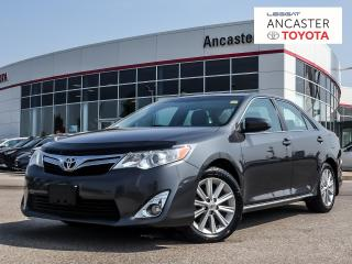 Used 2012 Toyota Camry XLE - NAVI|LEATHER|SUNROOF|BLUETOOTH for sale in Ancaster, ON