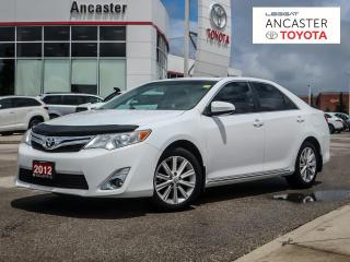 Used 2012 Toyota Camry XLE|1 OWNER|NO ACCIDENTS|NAVI|BLUETOOTH for sale in Ancaster, ON
