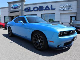 Used 2016 Dodge Challenger R/T Plus 6 SPEED MANUAL , RARE TO FIND. for sale in Ottawa, ON