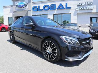 Used 2016 Mercedes-Benz C450 AMG 4MATIC BLACK ON BLACK , 360 Hp. for sale in Ottawa, ON