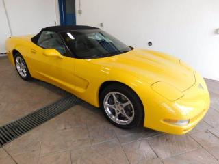Used 2003 Chevrolet Corvette CONVERTIBLE *MANUAL* LEATHER for sale in Listowel, ON