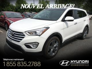 Used 2016 Hyundai Santa Fe XL LIMITED AWD + GARANTIE + TOIT + NAVI + for sale in Drummondville, QC