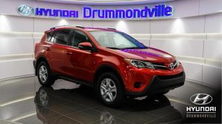 Used 2015 Toyota RAV4 LE + AWD + CAMERA RECUL + BLUETOOTH + AI for sale in Drummondville, QC