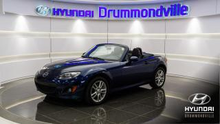 Used 2010 Mazda Miata MX-5 GX + 79 717 KM + CRUISE + WOW !! for sale in Drummondville, QC