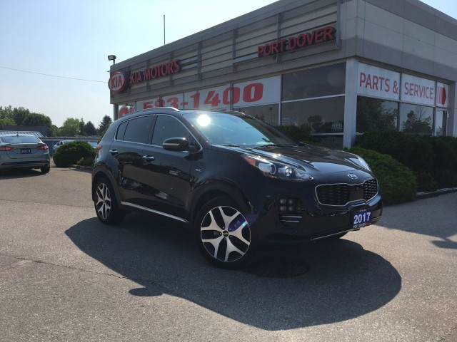 2017 Kia Sportage SX Turbo | 1 Owner | Htd & Cooled Seats
