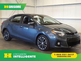 Used 2016 Toyota Corolla SE CAMÉRA-BLUETOOTH for sale in St-Léonard, QC