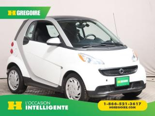 Used 2015 Smart fortwo PURE AUT A/C CUIR for sale in St-Léonard, QC